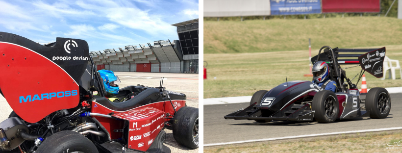 People Design Sponsor Formula SAE: new vehicles have been revealed!