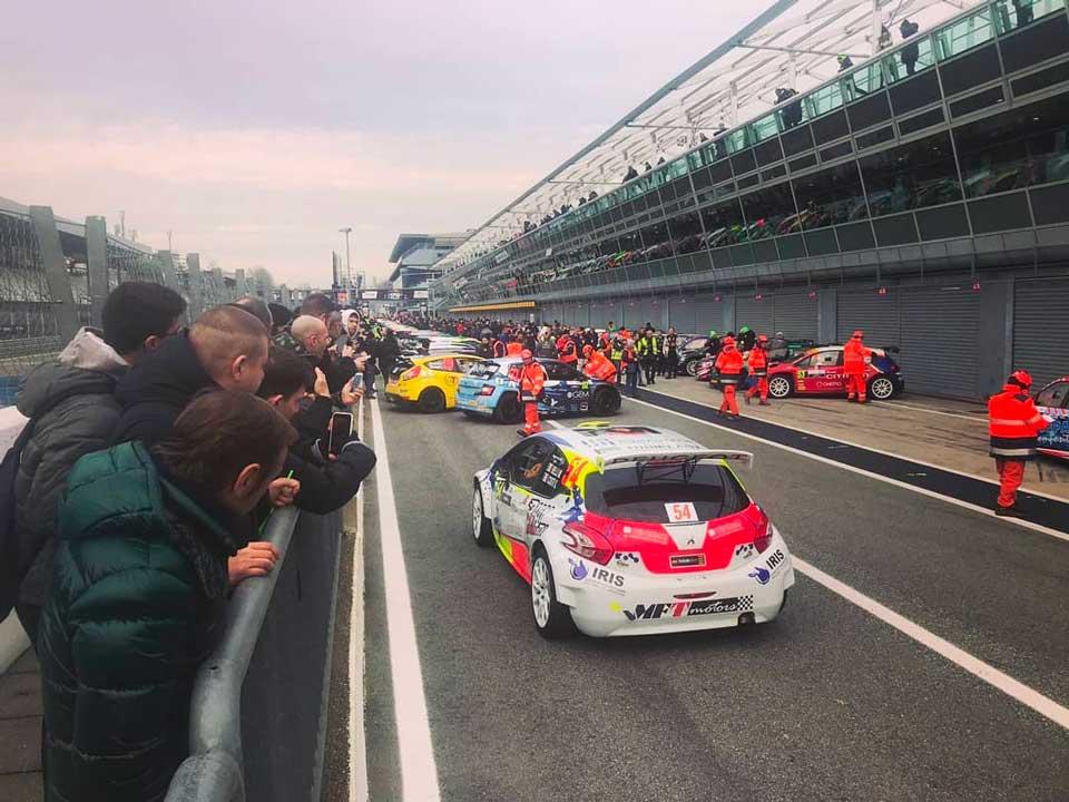 Monza. Rally. Show.