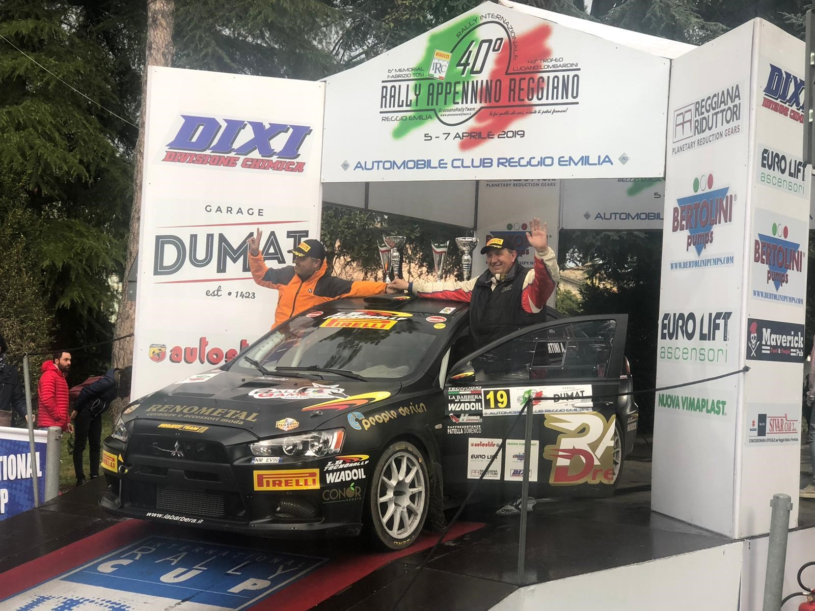 From Dakar to IRC: People Design confirms passion for rally!