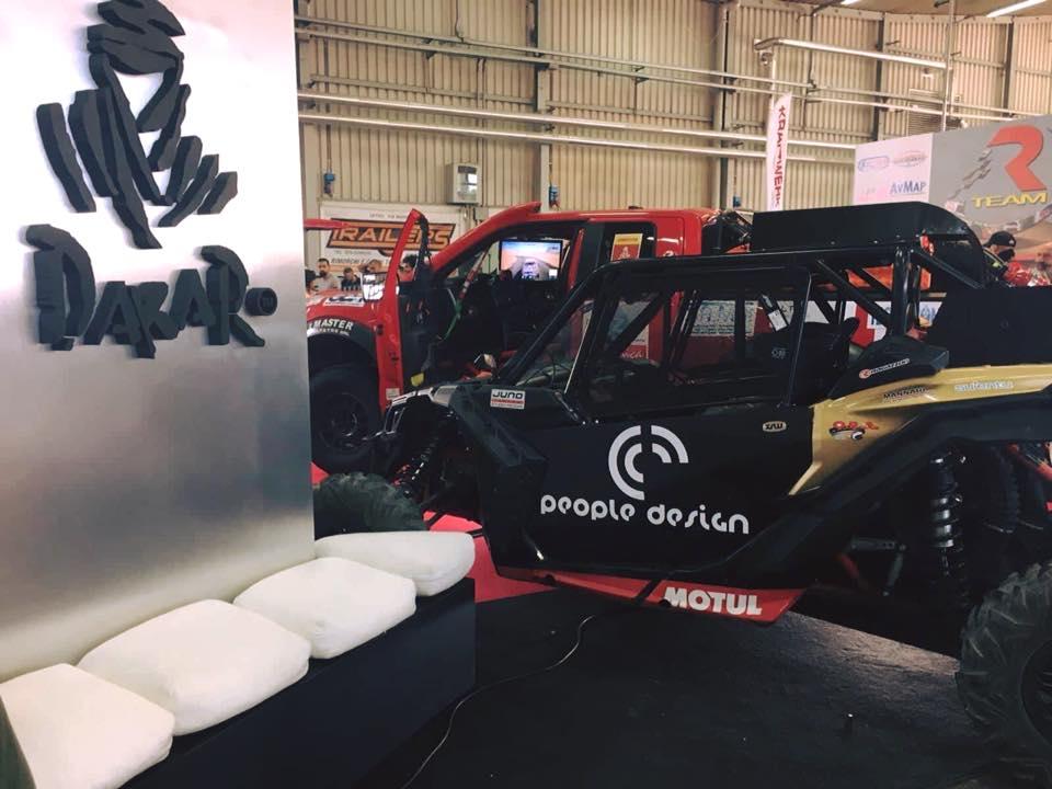 People Design sponsor ufficiale Dakar R-Team